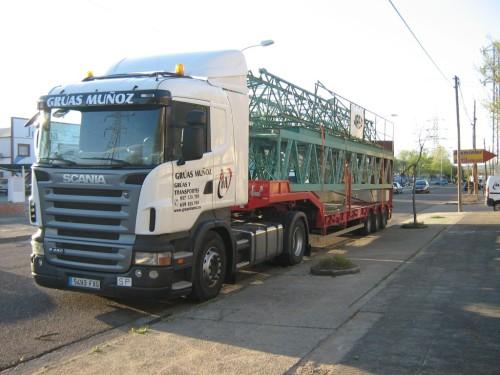 Transportes Especiales en Córdoba - Grúas Muñoz