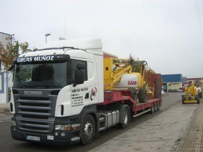 Transportes Especiales 4 - Grúas Muñoz