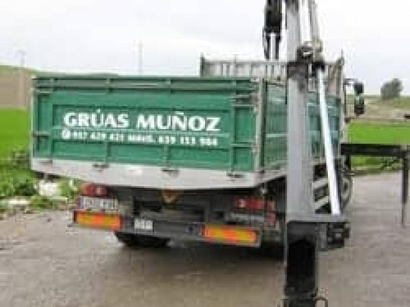 Las grúas - Grúas Muñoz
