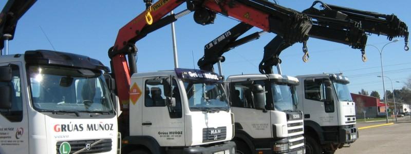 Camiones Grúa en Montilla  - Grúas Muñoz