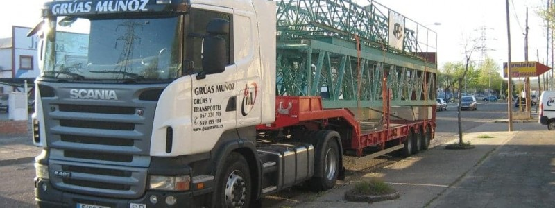 Transporte especial - Grúas Muñoz