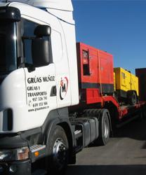 Camiones góndola - Grúas Muñoz