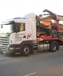 Alquiler de camiones grúa en Montilla con conductor - Grúas Muñoz