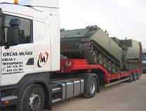 Camión pluma 3500 kg - Grúas Muñoz