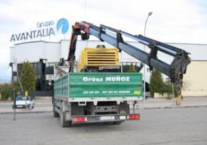 Grúas camión - Grúas Muñoz