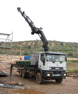 Alquiler de camiones góndola Priego de Córdoba - Grúas Muñoz