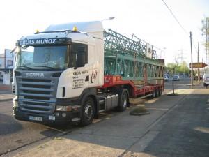Camiones para transporte de mercancías Córdoba - Grúas Muñoz