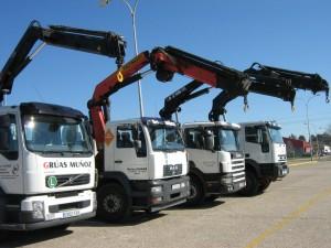 Empresa de transporte de mercancías por carretera en córdoba - Grúas Muñoz